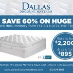 Dallas Morning News Huge Mattress Discount, Huge Mattress