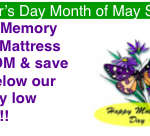 May Mattress Coupon