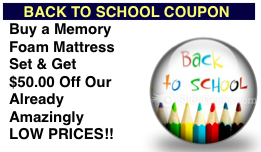 Memory Foam Mattress Coupon, Mattress Sale everyday!